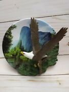 Bradford Exchange Plate Take Off Eagle Masters Of The Sky 6th Issue A2171