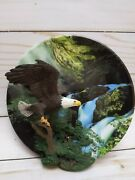 Bradford Exchange 3d Plate Take Off Eagle Masters Of The Sky 5th Issue A2789