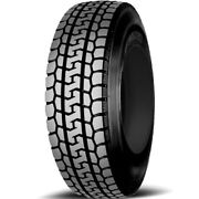 4 Tires Yokohama Ty287 225/70r19.5 Load F 12 Ply Dt Drive Commercial