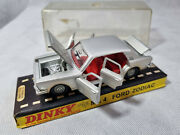 Vintage Dinky Toys 164 Mk4 Ford Zodiac Dinky Made In England Boxed Diecast