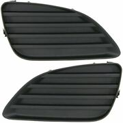 New Set Of 2 Fog Light Covers Driver And Passenger Side Lh Rh For Camry 10-11 Pair
