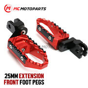 25mm Adjustable Trc Front Wide Footpegs For Ducati Sporttouring St4 99-04 02 03