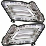 Parking Light For 2011-2013 Volvo S60 Set Of 2 Driver And Passenger Side