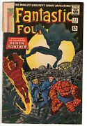 Fantastic Four 52 1966 - Grade 2.5 - 1st Appearance Black Panther Silver Age