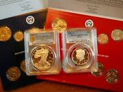 End Of World War Ii V75th Anniversary Eagle 2020 Jfk Pcgs 69 And P/d Sets 22 Coins
