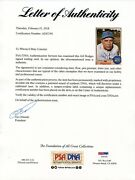 Gil Hodges Signed 1968 Topps 27 Mets Psa/dna Full Letter Of Authenticity