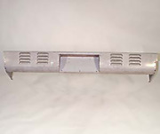 Rear Roll Pan Chevy 1954 - 1966 Chevrolet Gmc Stepside Louvres 4 Rows Box Truck