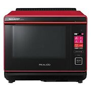 Sharp Healsio Ax-xa10-r Red Baking With Water Warm And Speed Cooking From Japan