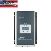 Epever Mppt 20a 30a 40a Solar Charge Controller Regulator Dc12/24v Auto Pv100v