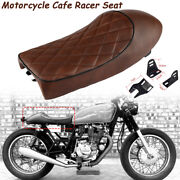 Motorcycle Vintage Hump Seat For Cafe Racer Suzuki Gs400 550 Gt750 T125 T305 500