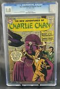 The New Adventures Of Charlie Chan 1 Cgc 8.0