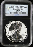 2013 W Reverse Proof Silver Eagle Ngc Pf 69 | Early Releases Pr Black Core