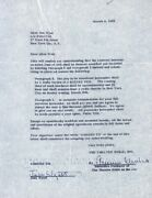 Jane Wyatt - Contract Signed 03/04/1953 Co-signed By Armina Marshall