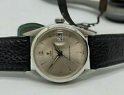 Rare Vintage Rolex Tudor Oysterdate Silver Dial Manand039s Watch