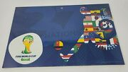 Fifa 2014 World Cup 11 X 17 32 Countries Wood Sign By Wincraft Offic Licensed