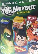 3- Superman Doomsday Justice League The New Frontier Green Lantern First Flight