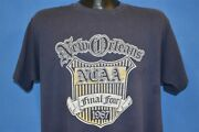 Vintage 80s Indiana Hoosiers Final Four Ncaa 1987 New Orleans T-shirt College L