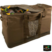 Drake Waterfowl Systems Camo 12 Slot Zippered Top Duck Goose Decoy Bag