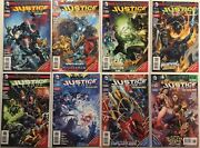 8x Justice League Comic 13 17 23 24 25 26 28 29 Dc New 52 Combo Pack Variant
