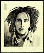 Obey Bob Marley 40th Signed And Numbered Letterpress Ready To Ship Next Day