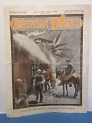 May 4, 1904 Christian Herald Newspaper Halt Tropical Forests Of Unframed