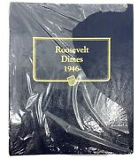 New Sealed Roosevelt Dimes 1946- Whitman Classic 9119 Coin Book To 1979s Orig