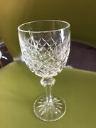 Waterford Crystal Powerscourt Water Goblets Set Of 10