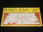 Whitman Pub 1981 - Rummy Royal Deluxe Edition Sealed Playing Cards And Chips