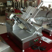 Heavy Duty Compact Slicer Electric Meat Slicer - 12 1/2 In Blade1/2 Hp 110v