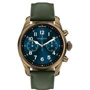 Man Wristwatch Summit 2+ Green Smart Watch For Android And Iphone