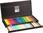 Holbein Artists Colored Pencil 100 Colors Sets Wooden Box Holbein Art Materials