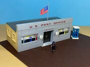 O Ga. Plasticville Po-1 Post Office, N/b, Phone Booth, This Is For 1 Of 4 Listed