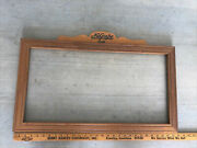 Rare 1940's Nugrape Soda Advertising Wood Frame For Cardboard Sign Look