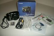 Canon Powershot Sx120is 10mp Digital Camera 10x Optical Images Stabilized Zoom