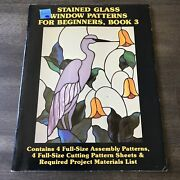 Stained Glass Window Patterns For Beginners Book 3 - Hidden House Publications