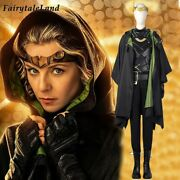 High Quality Lady Loki Cosplay Costume Halloween Sylvie Variant Outfit