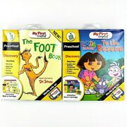 New My First Leappad Dora To The Rescue And The Foot Book Preschool Lot Of 2