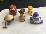 Disney Pixar Cars Lot Rare Toy Story Woody And Buzz Ape Mater Zen Master Pitty