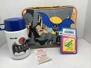 Batman The Animated Series Vintage 1993 Vinyl Lunchbox By Thermos