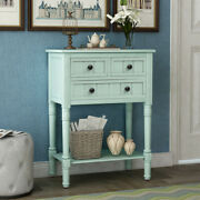 Narrow Console Table Ultra-thin Sofa Table With 3 Locker Living Room Underframe