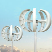 Wind Turbine Generatorswith Electromagnetic Controller White Colored For Home