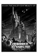 Maleficentand039s Forbidden Mountain Limited Giclee Print Art Poster 75 13 X 19
