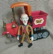 Memory Lane Santa Claus Is Coming To Town - North Pole Mail Truck -