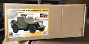 Dragon 71428 Dx'09 Special Pre-built Wwii 1/4 Ton 4x4 Armored Truck 1/6 Us Ship