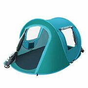 2-4 Person Pop Up Tent Camping Tentsandshelters Family Portable Instant Cabana Bea