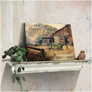 And We Lived Happily Ever After Us Farmhouse And John Deere Tractor Wall Art