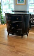 Ethan Allen Stratton Chest Domino Black With Gold