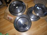 4 Nos 1975 Chevrolet Monte Carlo And Impala Hubcaps