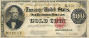 1922 100 Gold Certificate - Thomas Hart Benton Fr 1215 Nice Extremely Fine