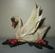 House Of Hatten D Calla 7 Seven Swans A Swimming 12 Days Christmas Ornament Mint